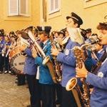 La Rossini a Castel Gandolfo dal Papa, 1989