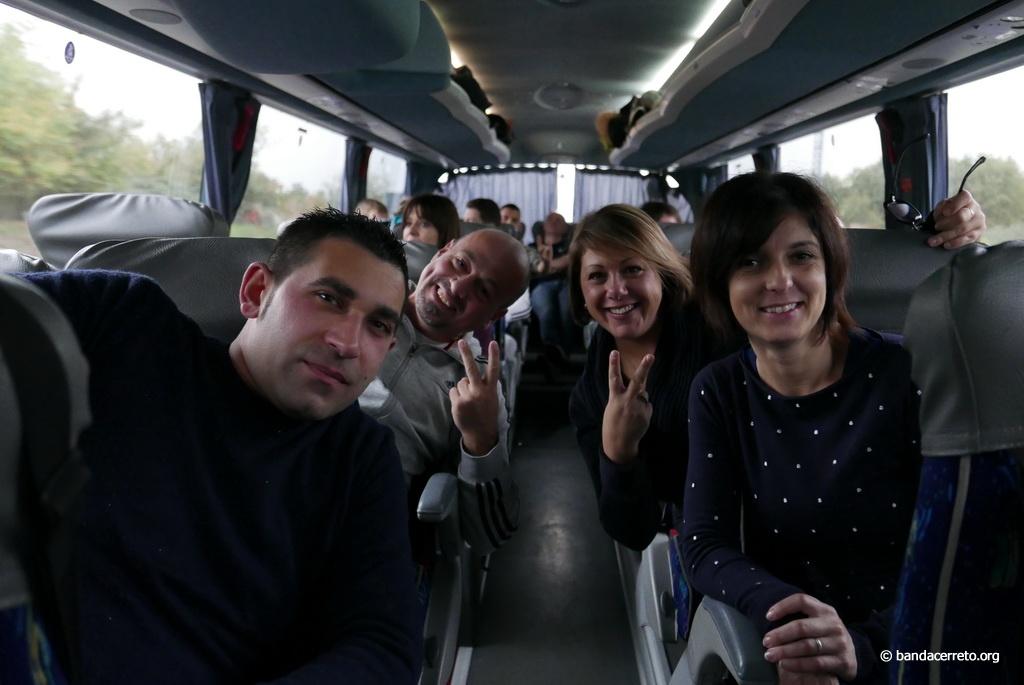 S. Cecilia a Cerreto D'Esi - La partenza